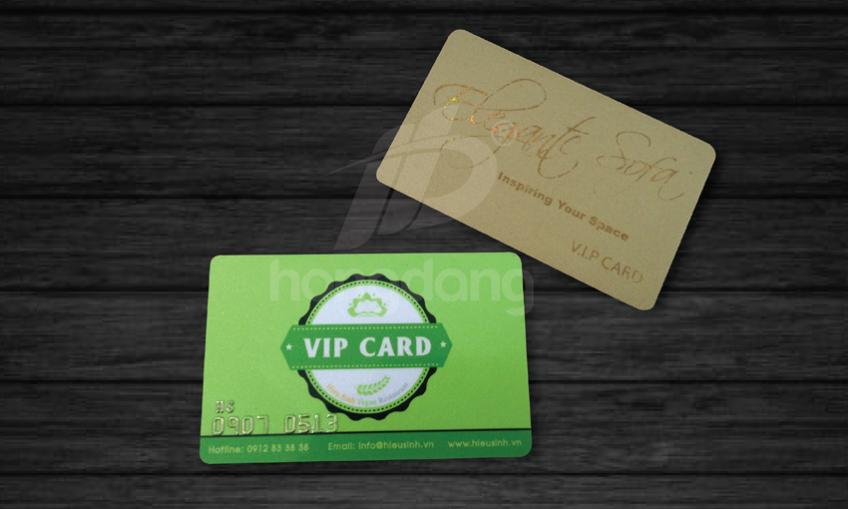 Dịch vụ In thẻ nhựa vip giá rẻ tại Hà Nội