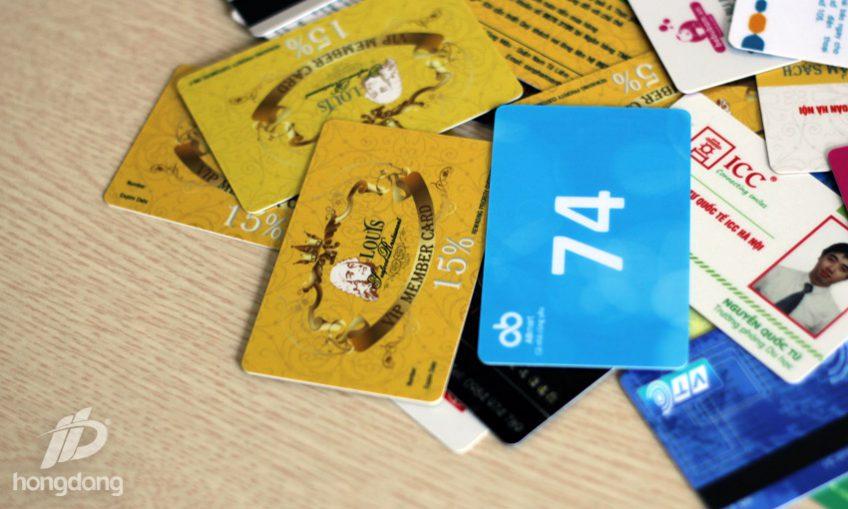 In thẻ nhựa Hà Nội chất lượng tiện ích cho khách hàng