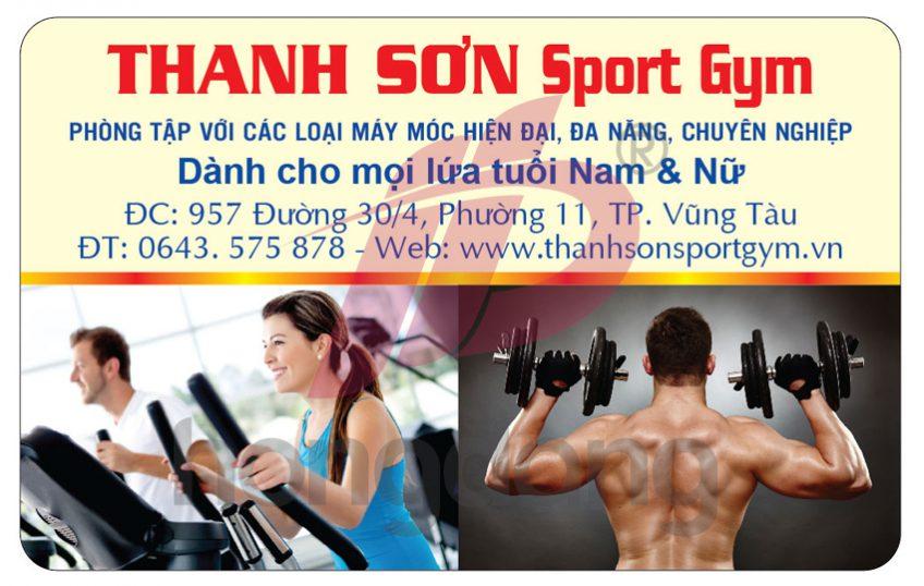 In thẻ hội viên kiêm thẻ từ giá rẻ cho phòng tập gym