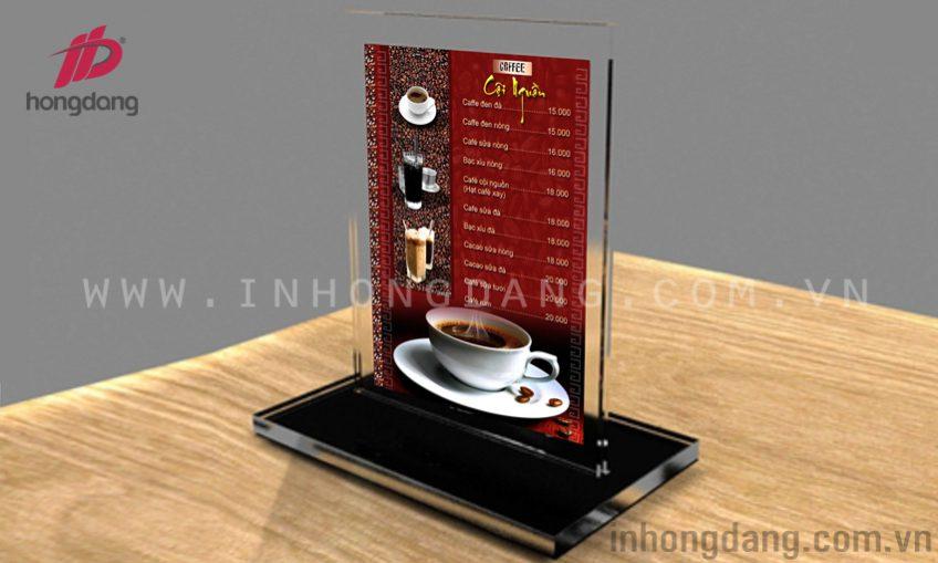 In menu nhựa tại Hà Nội và những lợi ích của menu nhựa