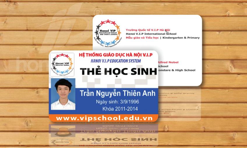 In thẻ học sinh tại Hà Nội và những điều bạn nên biết