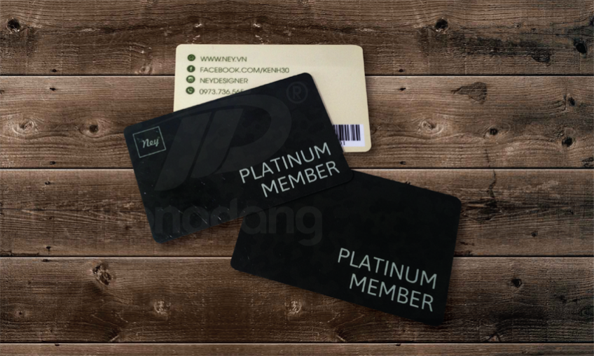 Xưởng in thẻ thành viên tại Hà Nội chất lượng tốt