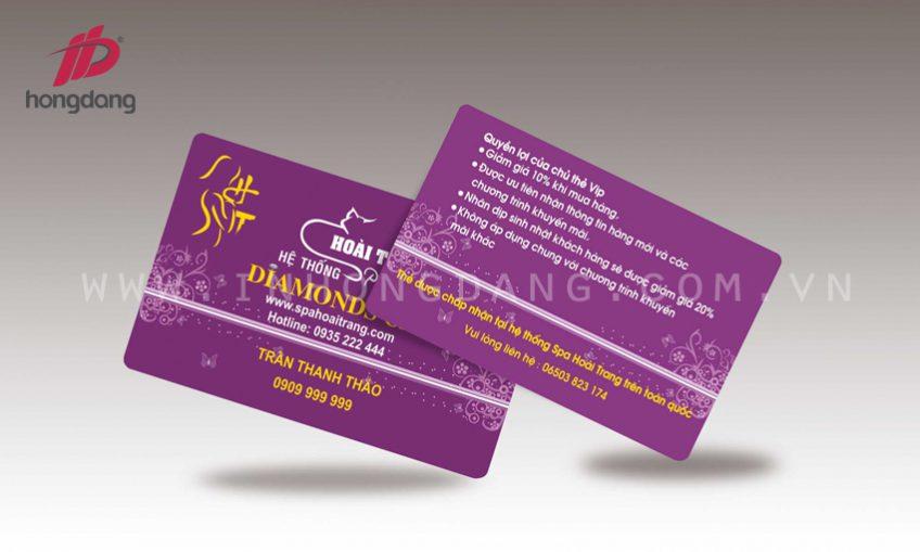 In thẻ VIP chiến lược tri ân khách hàng thông minh
