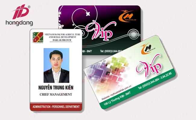 In thẻ nhựa giá rẻ tại Hà Nội với thẻ tích hợp thông minh
