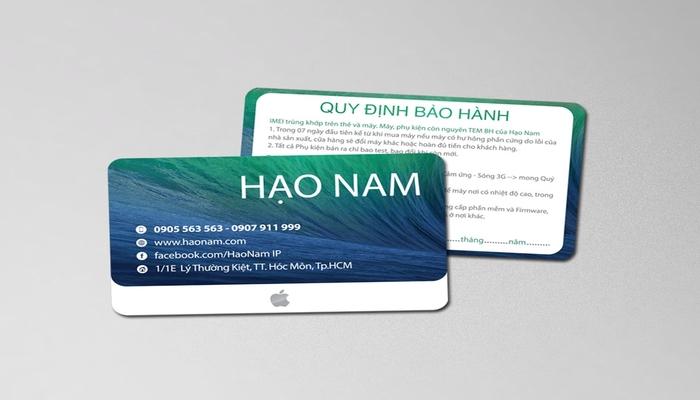 Thẻ PVC 3 lớp